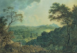 View of Edinburgh from Corstorphine Hill Wall Art & Canvas Prints by Otto Hesselbom