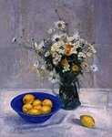 Summer Daisies and Lemons, 1990 Poster Art Print by Timothy Easton