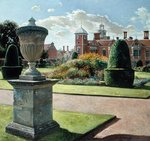 The Parterre and Yew Pillars at Blickling Hall, 1999 Fine Art Print by Claude Joseph Vernet