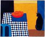 Still Life with Boris, 2002 (acrylic on paper) Wall Art & Canvas Prints by Paul Serusier
