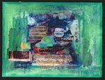 Poetry, 1998 (mixed media) Fine Art Print by Nissan Engel