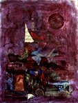 Fantasy, 1996 (mixed media) Wall Art & Canvas Prints by Nissan Engel