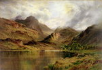 Banks of Arrochar Fine Art Print by Francis Towne