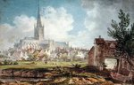 Norwich Cathedral from the South-East Fine Art Print by Lisa Graa Jensen