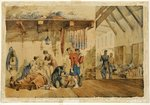 [Barrack] Hospital Scutari, scene with nurses and soldiers of the Highland Regiment, 1854-56 Wall Art & Canvas Prints by Clive Uptton