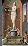Allegory of Prudence Fine Art Print by Titian