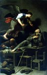 The Ecstasy of St. Francis Poster Art Print by Jusepe de Ribera