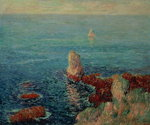 The Island of Groix, 1896 Fine Art Print by Claude Monet