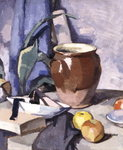 The Brown Crock Fine Art Print by Samuel John Peploe