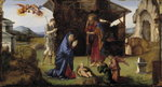 The Nativity Fine Art Print by Gerard David