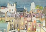 View from Rear Window of 48 Chester Square, SW1, 1982 Fine Art Print by Charles Ginner