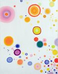 Cosmic Joy!, 2009 Wall Art & Canvas Prints by Izabella Godlewska de Aranda