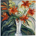 Lilies Fine Art Print by Sarah O'Toole