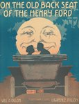 Front cover of the score of 'On the Old Back Seat of the Henry Ford', c.1935 Postcards, Greetings Cards, Art Prints, Canvas, Framed Pictures, T-shirts & Wall Art by Susan Bower