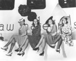 Nylon publicity photo, New York World's Fair, 1939 Fine Art Print by French School