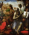 St Jerome Wall Art & Canvas Prints by Jean Bernard Restout