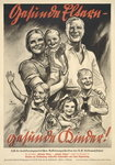 "Advertisement for a German public information brochure titled ""Healthy Parents - Healthy Children!"", 1934 Fine Art Print by Louis Leopold Boilly"
