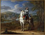 Equestrian portrait of Henri de la Tour d'Auvergne before Maastricht 1673, after 1675 Wall Art & Canvas Prints by German School