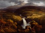 Landscape, 1790-1849 Wall Art & Canvas Prints by Edward Wilkins Waite