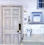 Meditation on Door II, 2004 (oil on canvas)