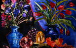 Anemones and Tulips, 2006 Fine Art Print by Carl Albrecht
