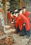 My Son's Regiment Fine Art Print by James Hayllar