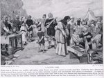 A Saxon Fair Fine Art Print by Anonymous