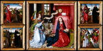 Triptych of the Annunciation, c.1483 Fine Art Print by Luca Giordano
