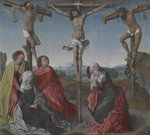 Crucifixion, c.1500 Wall Art & Canvas Prints by Eduard Karl Franz von Gebhardt
