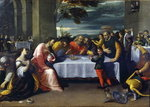 The Feast at the House of Simon Fine Art Print by Peter Paul Rubens