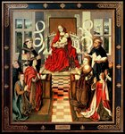 The Virgin of the Catholic Kings, c.1490 Fine Art Print by Master of the Pala Sforzesca