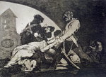 Nor do these, plate 11 of 'The Disasters of War', 1810-14, pub.1863 Fine Art Print by Francisco Jose de Goya y Lucientes