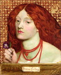 Regina Cordium, 1860 Wall Art & Canvas Prints by Dante Gabriel Rossetti