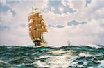 The Port Light 'Golden Fleece' Wall Art & Canvas Prints by James Brereton