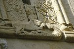 A relief carving on the exterior of the Church of the Virgin Wall Art & Canvas Prints by Anonymous