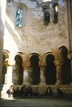 The ruined apse of the Church of the Virgin Wall Art & Canvas Prints by Anonymous