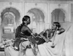 Nautch girls Fine Art Print by Charles Albert Pesnelle
