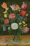 Still life with spring flowers Postcards, Greetings Cards, Art Prints, Canvas, Framed Pictures, T-shirts & Wall Art by Balthasar van der Ast