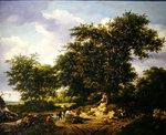 The Great Oak, 1652 Wall Art & Canvas Prints by John Constable