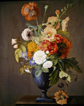 Still life with flowers Wall Art & Canvas Prints by Albert Williams