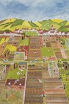 Allotments Fine Art Print by Anna Teasdale