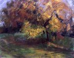 Autumn at May Banks, Sussex, 2000 (pastel on paper) Wall Art & Canvas Prints by Nikolai Konstantinovich Rerikh