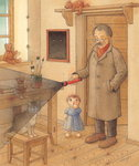 Lantern, 2005 (w/c on paper) Wall Art & Canvas Prints by Kestutis Kasparavicius