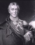 Portrait of Arthur Wellesley, 1st Duke of Wellington (1769-1852) (engraving) Wall Art & Canvas Prints by English School