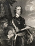Oliver Cromwell Fine Art Print by English School