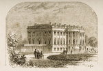 The White House, in c.1870, from 'American Pictures' published by the Religious Tract Society, 1876