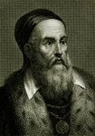 Titian (Tiziano Vicellio) (c.1488-1576) (engraving) Fine Art Print by French School