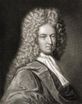 Daniel Defoe Fine Art Print by English School