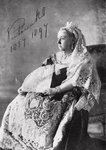 Queen Victoria (1819-1901) The authorised Diamond Jubilee photograph, 1897 (b/w photo) Postcards, Greetings Cards, Art Prints, Canvas, Framed Pictures & Wall Art by English Photographer