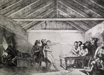 The Arrest of the Cato Street Conspirators on 23rd February, 1820 Fine Art Print by Clive Uptton